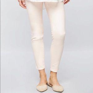 LED Secret Fit Belly Sateen Skinny Ankle Pants